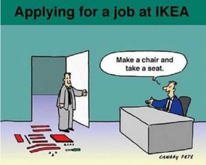 job chez Ikea