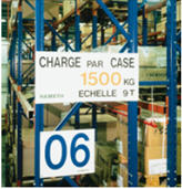 charge maximale par case